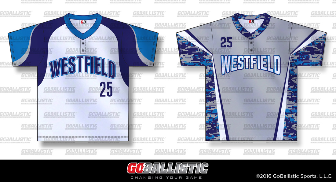 Sublimated baseball jerseys - Westfield, NJ